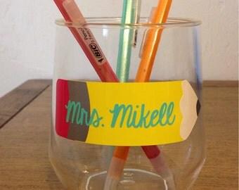Monogram Pencil Cup
