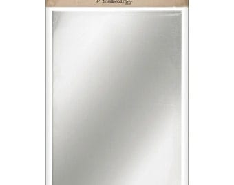 "Idea-Ology Adhesive Backed Mirrored Sheets 6""X9"" 2/Pkg by Tim Holtz"
