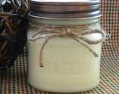 TWILIGHT WOODS Soy Candle - Maximum Scented - 8 oz Square Mason Jar