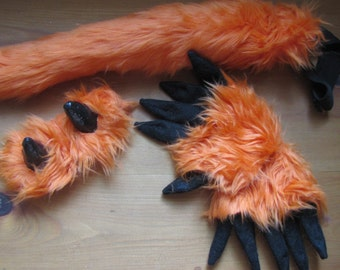 Little Furry Monster Costume set