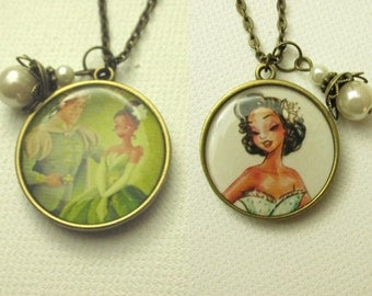 Tiana & Naveen's Happily Ever After Necklace - Two In One