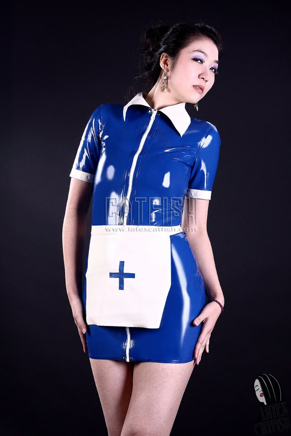 Latex Maid Uniform 98