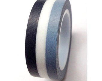 "Washi Tape ""Monochromatic""  10 meters"