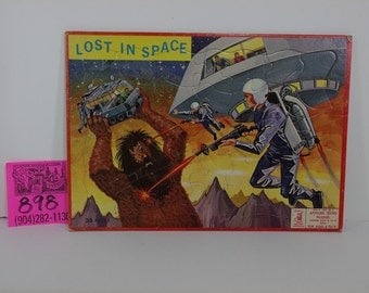 Lost in Space Frame Tray Puzzle, 1960's