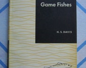 Vintage HB Book 1961 Culture & Disease of Game Fish Fishes H S Davis