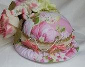 Stunning handmade pincushion hat