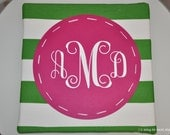 the script stripe monogram canvas