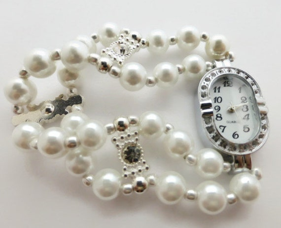 Pearl Bracelet Watches Pearl Bracelet Watch Fashion
