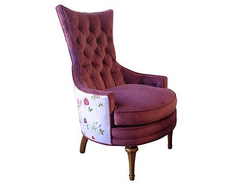 Mary Tufted Accent Chair