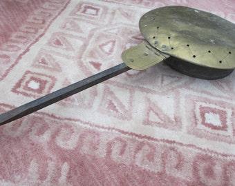 Antique Bed warming Pan.