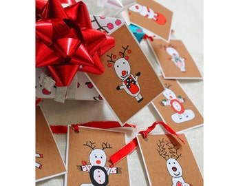 INSTANT DOWNLOAD Christmas tags, christmas labels, holiday tags, holiday card, christmas card, printable christmas tag, DIY christmas tag