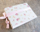 Large Floral Baby Photo Album Wedding Guest Book Scrapbook Album Memory Book