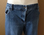 Vintage Ladies Jeans by Contrast - Blue - Size 16