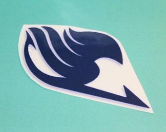 Fairy Tail Logo Temporary Tattoo - Gray Fullbuster