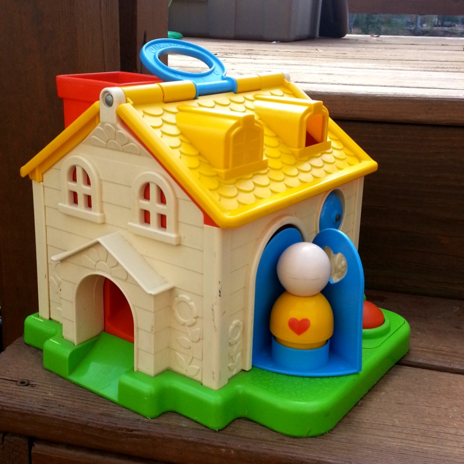 Toys For The 80s : Vintage s fisher price toy housesale
