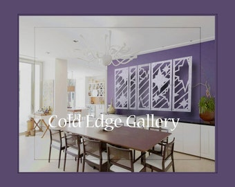 Dining room art etsy for Dining room metal wall art
