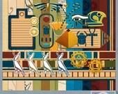 Dreams of the Nile Digital Scrapbooking Kit