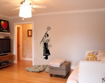 Final Fantasy X Inspired Yuna Wall Decal