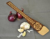 Decorated Wooden Spatula