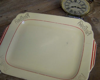 Homer Laughlin Platter Rectangular Platter Shabby Platter