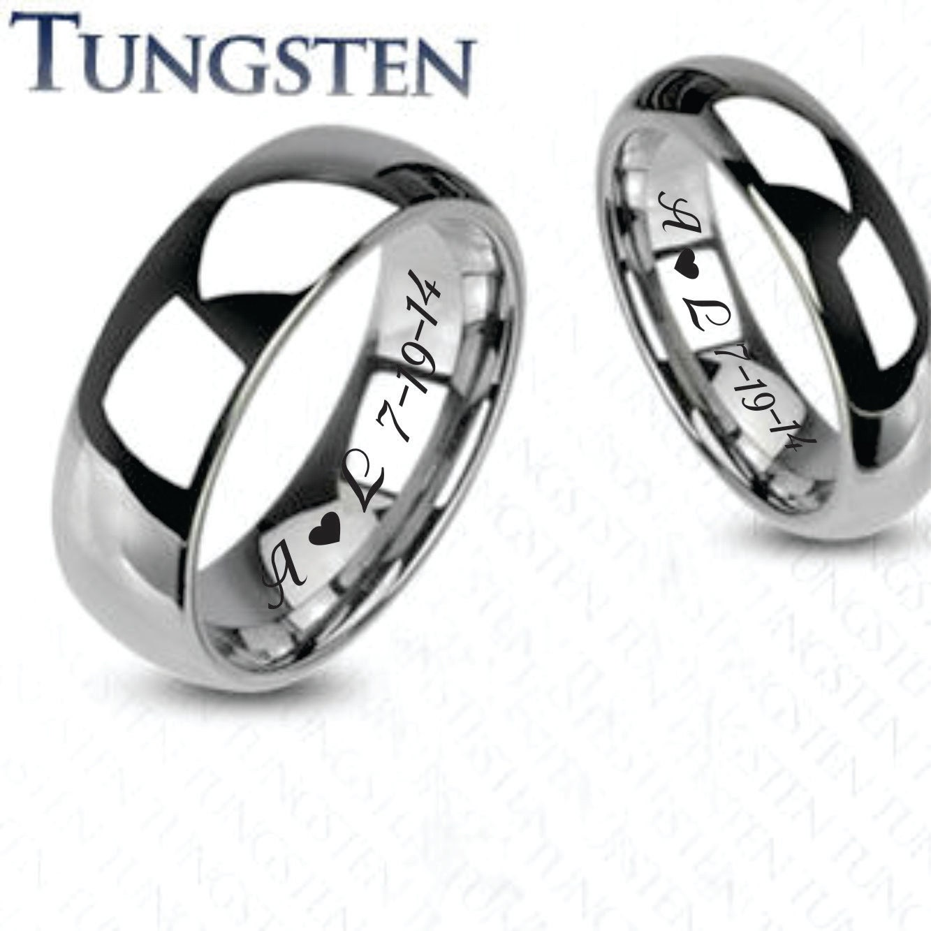 engraved rings promise rings personalized wedding bands. Black Bedroom Furniture Sets. Home Design Ideas