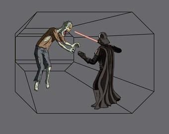 Darth Vader Vs. Zombies