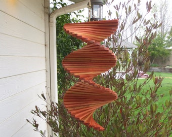 Zen Redwood Wind Spinner 11 inches