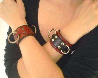 Small BDSM Cuff, Sub Slave Casual Day Wear