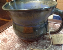 Vintage Hand Thrown Pottery Pitcher by Mud Puddle Pottery in Pegram, TN