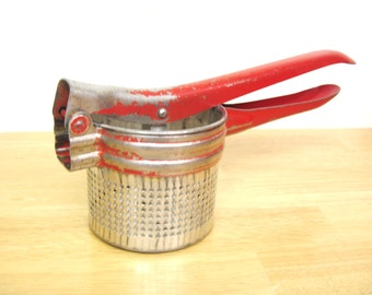 Vintage Kitchen Press, Juicer, Potato Masher, Ricer