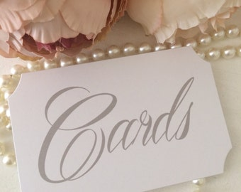 cards wedding sign
