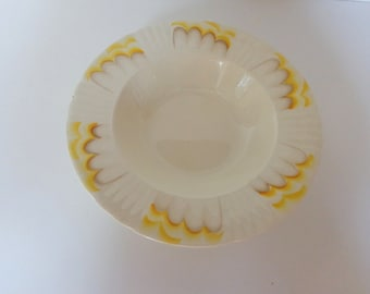 Just Reduced!  Vintage Myott Son & Co. Hand Painted Plate, Art Deco Plate, Collectible Plate