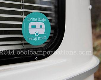Small Travel Trailer Bumper Sticker