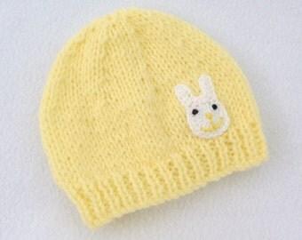 Lemon baby hat