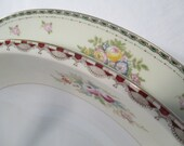Vintage Mismatched China Serving Dishes - Set of 2