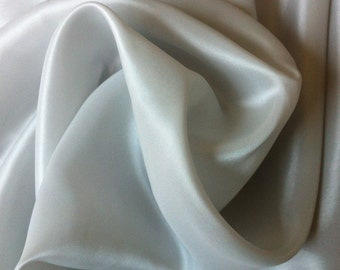 Light Silver Gray Lining Fabric- #148 (by the yard)