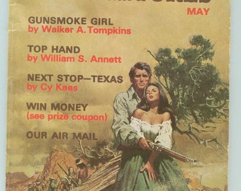 Vintage Retro Ranch Romances & Adventures Magazine May 1971