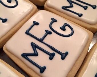 Monogram Cookies