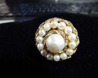 Vintage, Adjustable Ring