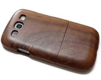 SALE Samsung Galaxy S3 case i9300 / wooden S3 case walnut wood