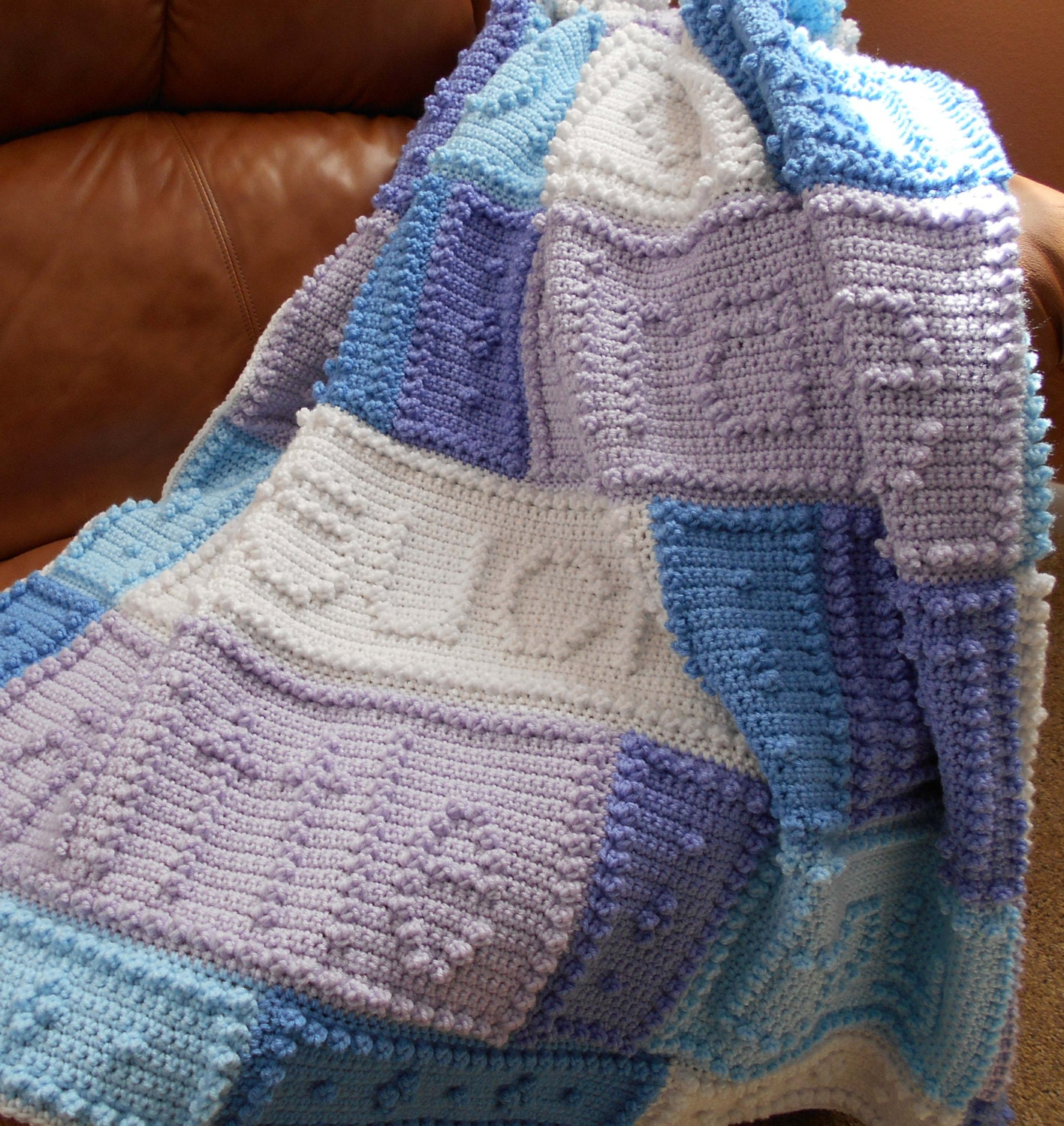 MIRACLE Pattern For Crocheted Blanket