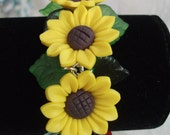 Summer Sun Sunflower Bracelet