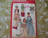 Vintage 70s Butterick Pattern 4261 Bicentennial Costume Girls 14