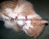 Catnip Pillow Toys / Set of 4 / Handmade/  Your Kitty Will LOVE Them! -/ Free Shipping!! Over 1000+ sets sold!!