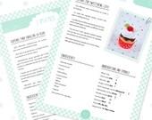 """PATRÓN de cupcake en crochet. """"Cupcake de nata y chocolate con cereza"""". PDF"""