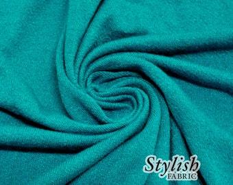 Seafoam Crepe Viscose Fabric Jersey Knit Viscose Jersey Fabric Soft Fabric Viscose by the yard - 550