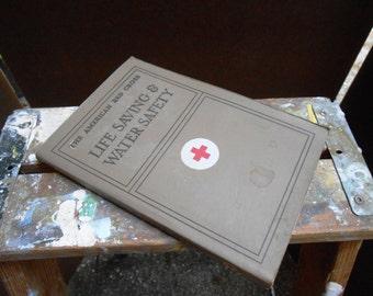 American Red Cross Life Saving Book 1969