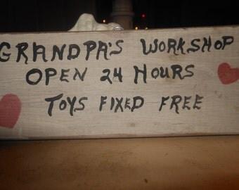 Grandpa's Workshop Toys Fixed Free