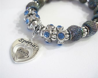 "Special Aunty Bracelet "" You have a very special place in my heart"""