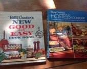 Vintage Cook Book - Cook Book Bundle - Betty Crocker's Hostess Cookbook and New Good and Easy Cook  Book
